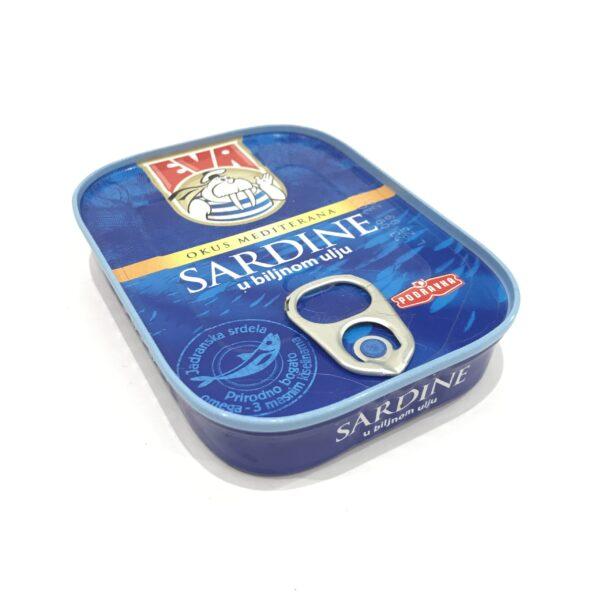 Sardinen in Pflanzenöl