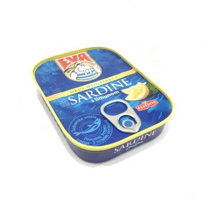 Sardinen mit Zitrone