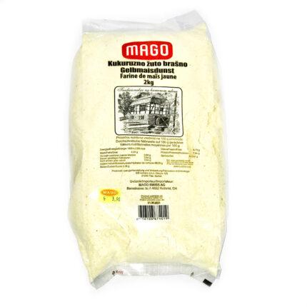 MAGO - Gelbmaisdunst aus Serbien in 2kg Packung.
