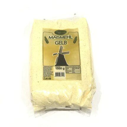 Maida - Maismehl weiss - Gelbes Maismehl aus Vollkorn aus Serbien, in 1kg Packung.