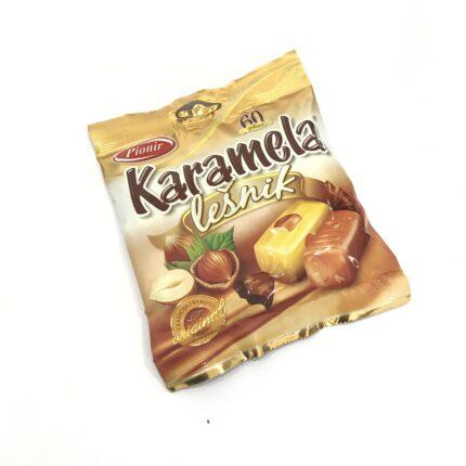 Pinoir - Karamela Lesnik - Karamel Bonbons mit Haselnuss 100g