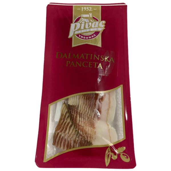 Pivac – Dalmatinska Panceta – Speck geschnitten – 100g