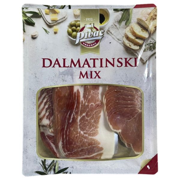 Pivac – Dalmatinski Mix – Fleischplatte geschnitten – 300g