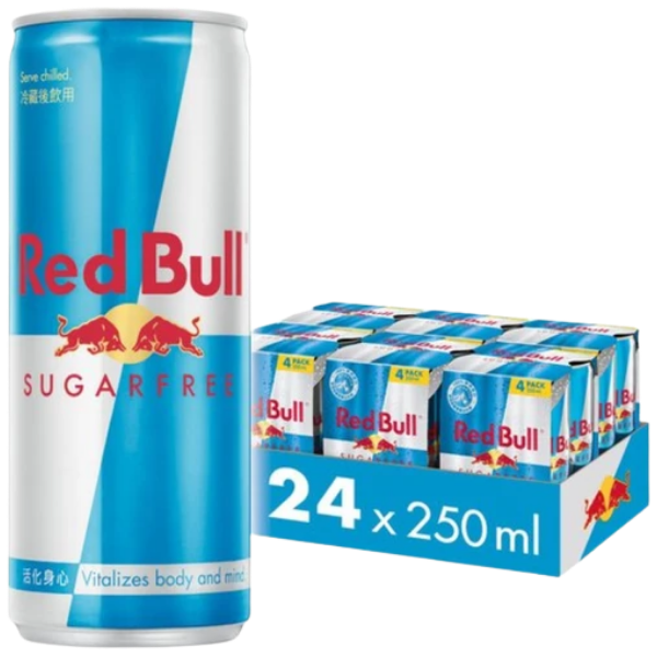 Redbull Sugarfree – Energy Drink – 24x250ml