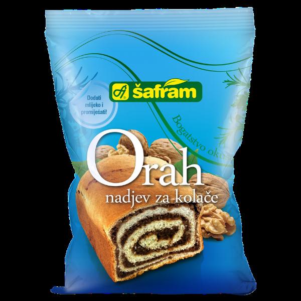 Safram – Orah – Walnuss Fertigmischung für Kuchen – 200g