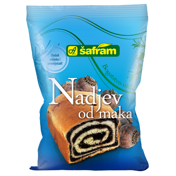 Safram – Mak – Mohn Fertigmischung für Kuchen – 200g