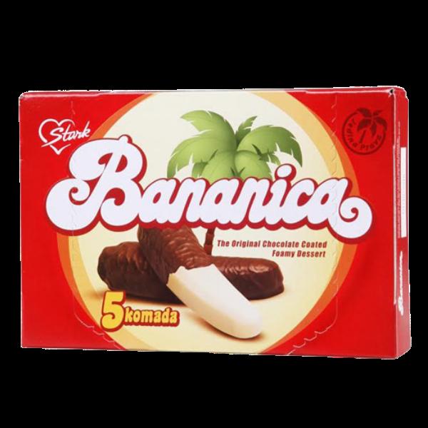 Stark – Bananica Soko – Schoko-Bananen – 5x25g (125g)