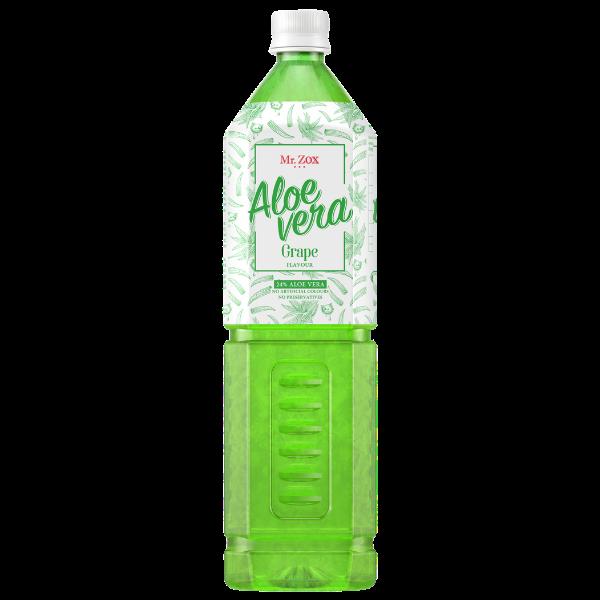 Mr. ZOX – Aloe Vera Drink mit Stücken – 1.5l