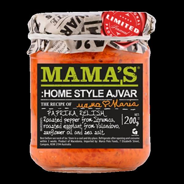 Mama's Ajvar – Hausgemacht mild – 200g