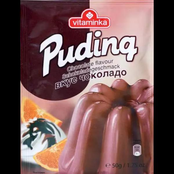 Vitaminka – Pudding Pulver Schokoladen Geschmack – 50g