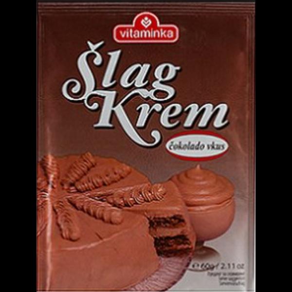 Vitaminka – Slag Krem – Schokoladen Pulver für Schlagsahne – 60g