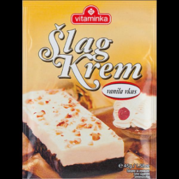 Vitaminka – Slag Krem – Vanille Pulver für Schlagsahne – 45g