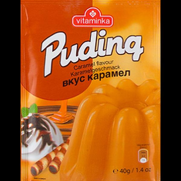 Vitaminka – Pudding Pulver Karamel Geschmack – 40g