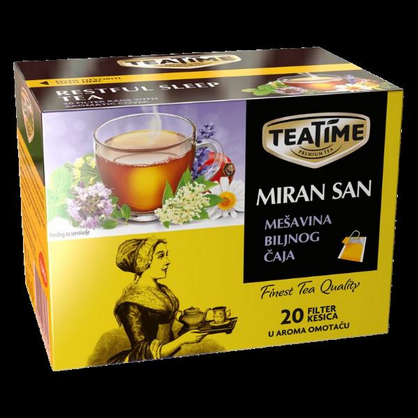 TeaTime – Miran San Caj – Ruhiger Schlaf Tee – 24g