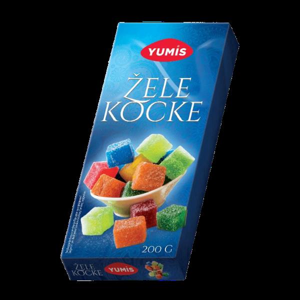 Yumis – Zele Kocke – Lokum – 200g