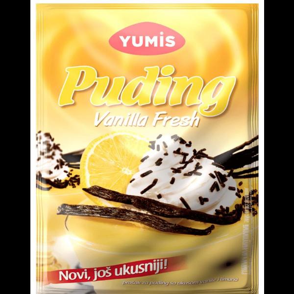 Yumis – Puding – Vanilla Fresh – 40g