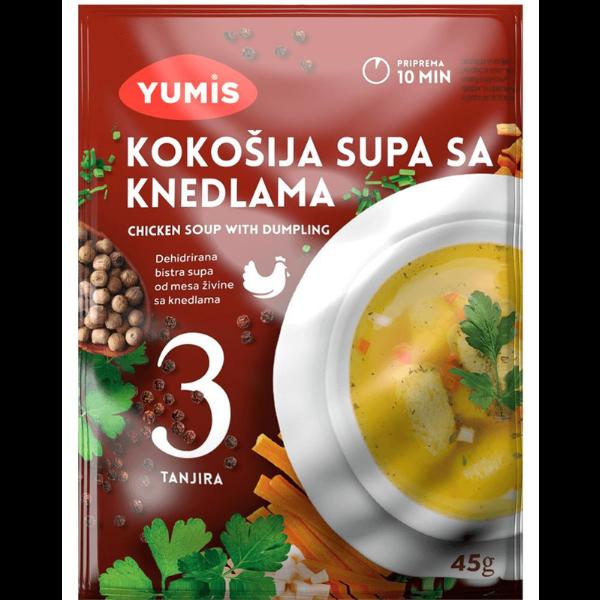 Yumis – Kokosija Supa Sa Knedlama – Hühner Suppe mit Knödel – 45g