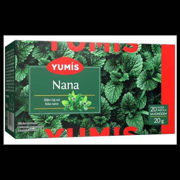 Yumis – Nana Caj – Minz Tee – 20g