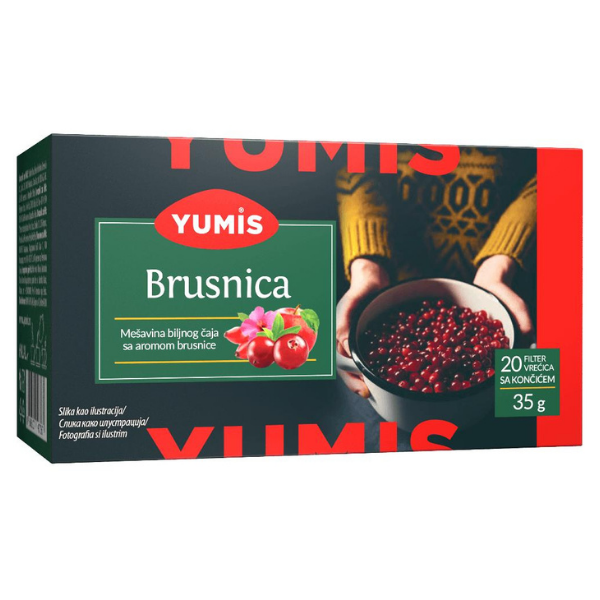 Yumis – Brusnica Caj – Cranberry Tee – 35g