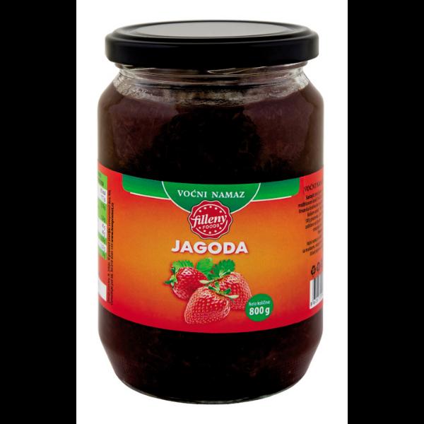 Filleny – Vocni Namaz – Erdbeer Konfitüre – 800g