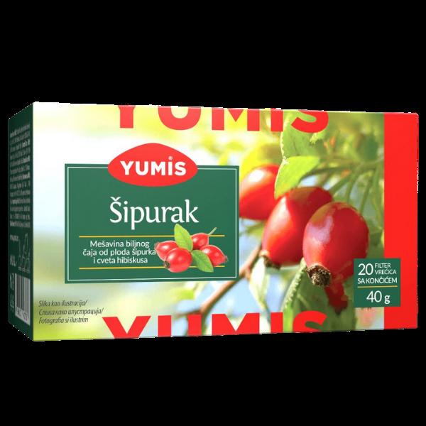 Yumis – Sipurak Caj – Hagenbutten Tee – 40g