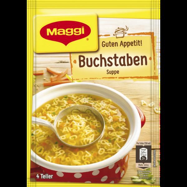Maggi – Buchstaben Suppe – 70g