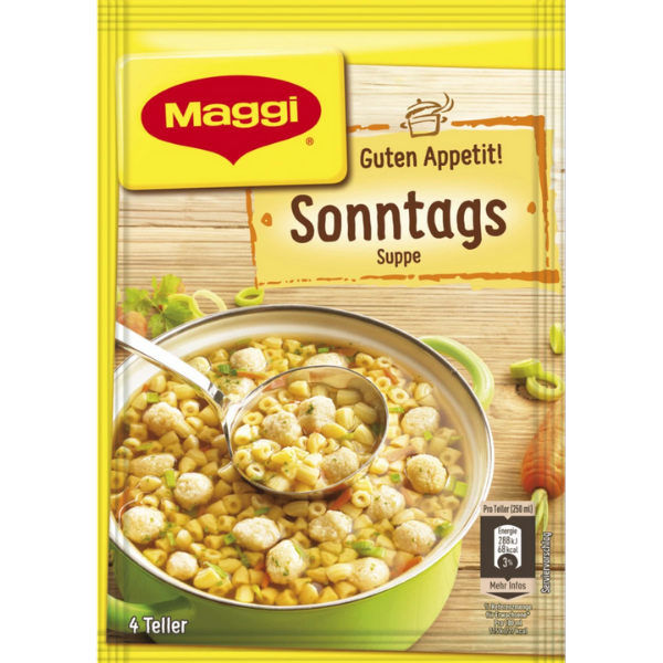 Maggi – Sonntags Suppe – 74g