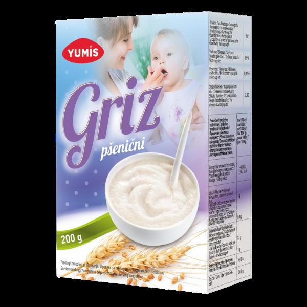 Yumis – Griz – Weizenbrei – 200g