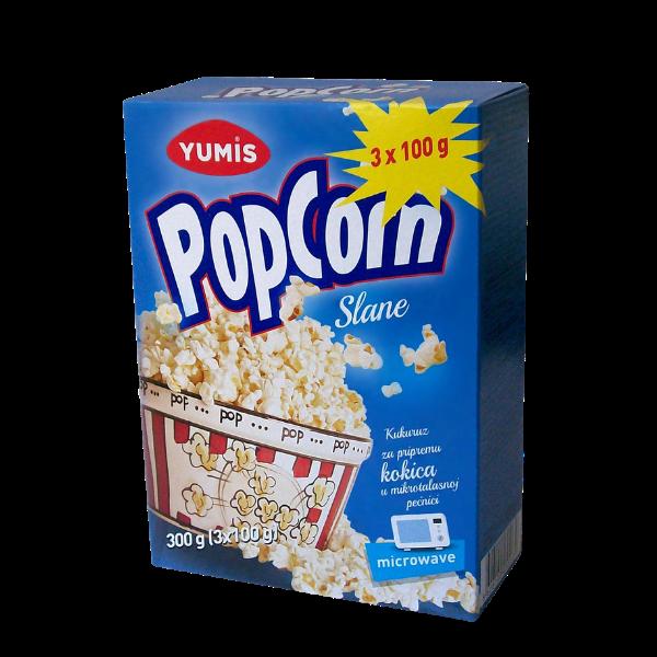 Yumis – Popcorn gesalzen – 3x100g