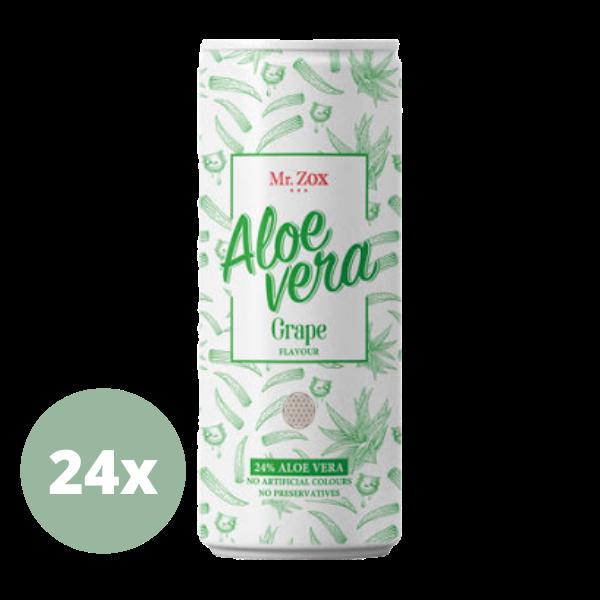 Mr. ZOX – Aloe Vera Drink mit Stücken – 24x250ml