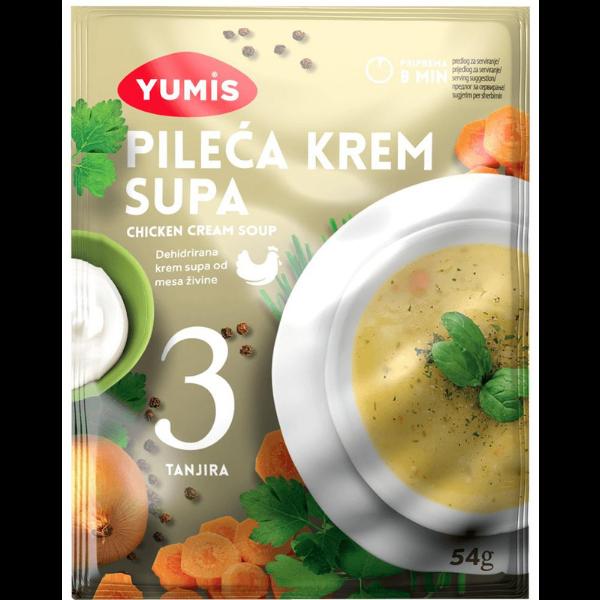 Yumis – Pileca Krem Supa – Hühner Creme Suppe – 54g