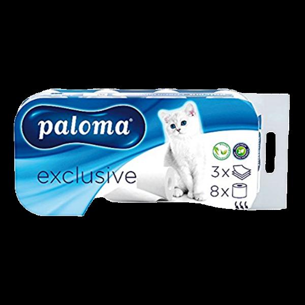 Paloma – WC-Papier 150 Blatt 3 lagig – 8 Rollen