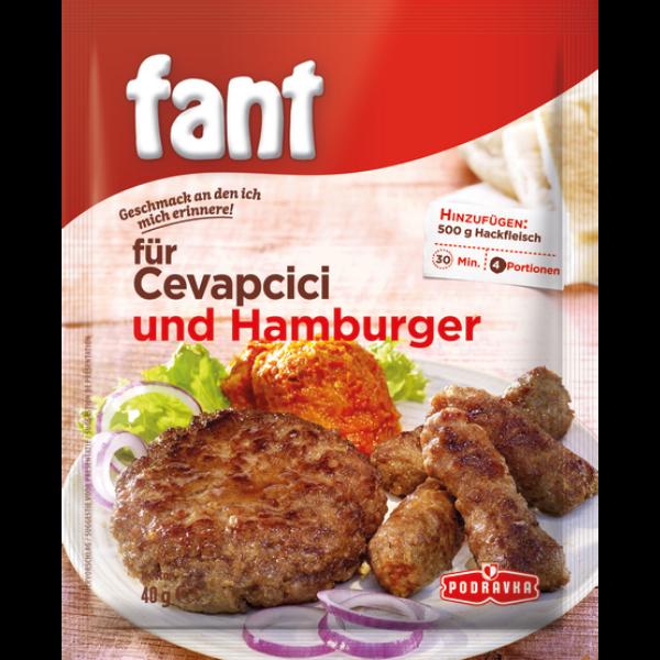 Podravka – Fant für Cevapcici und Hamburger – 40g