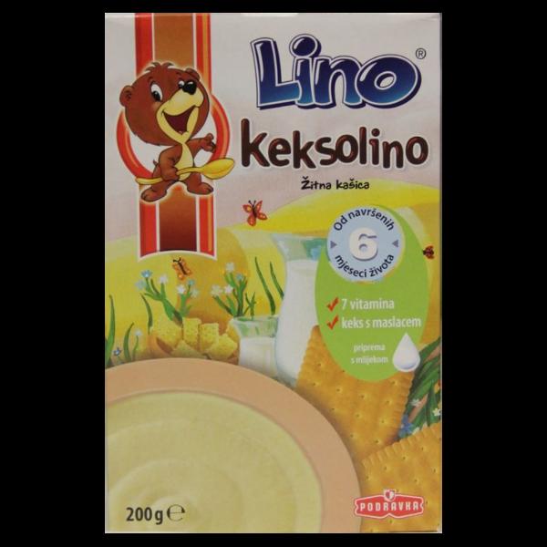 Podravka – Lino Keksolino Getreidebrei mit Vitaminen – 200g