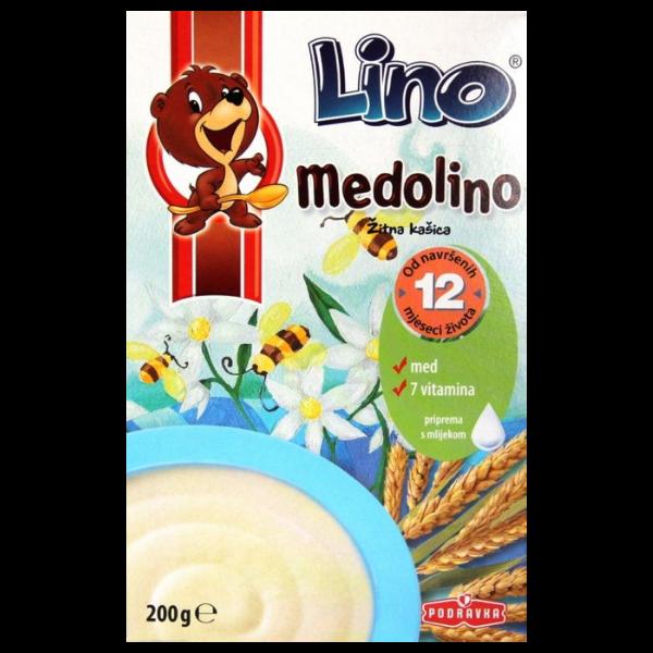 Podravka – Lino Medolino Getreideberi mit Honig + Vitaminen – 200g