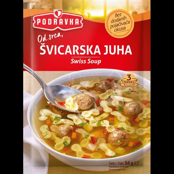 Podravka – Schweizer Suppe mit Fleischknödel – 54g