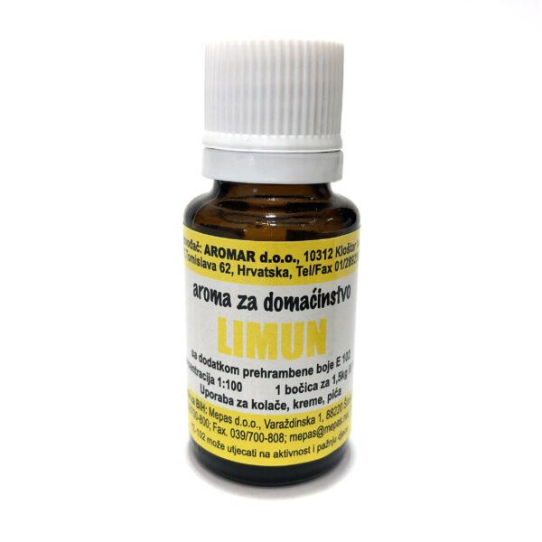 Aromar – Lebensmittelaroma – Zitrone – 15ml