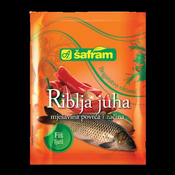 Safram – Fertigmischung für Fischsuppe scharf – 90g