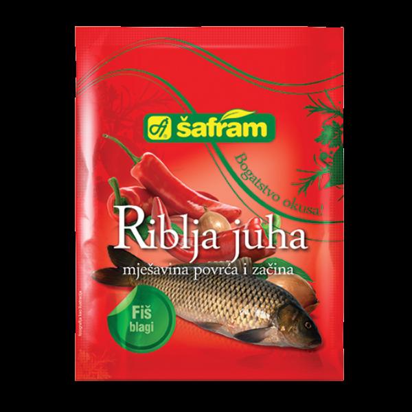 Safram – Fertigmischung für Fischsuppe süss – 90g