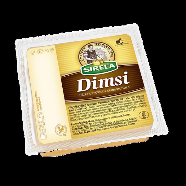 Dukat – Dimsi – Geräucherter Käse – 400g