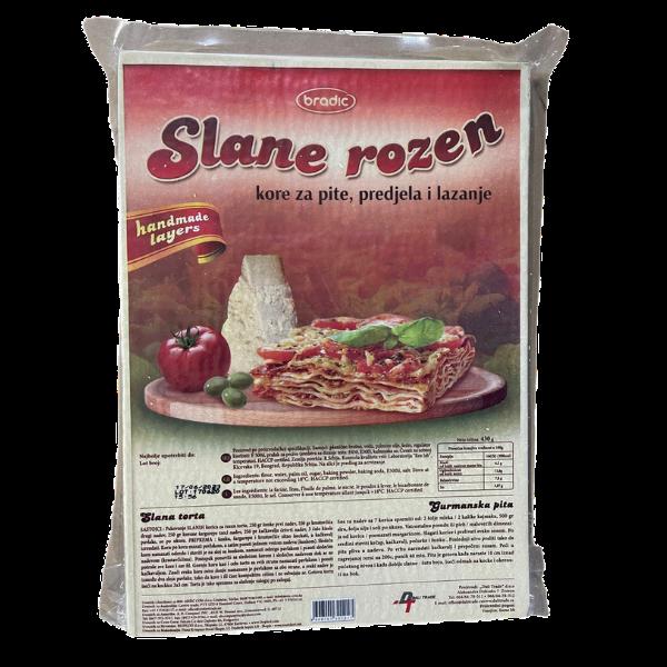 Bradic – Slane rozen – Lasagne Teig – 430g