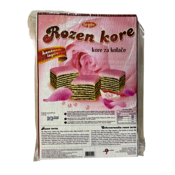 Bradic – Rozen kore – Tortenboden – 430g
