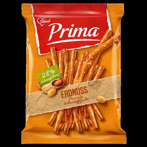 Stark – Prima – Salzstangen mit Erdnussfüllung – 100g
