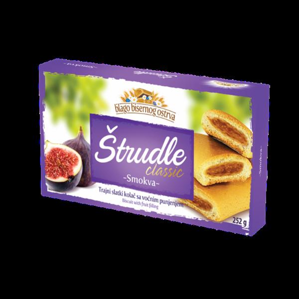 Strudlice classic – Strudel mit Feigen Füllung – 252g