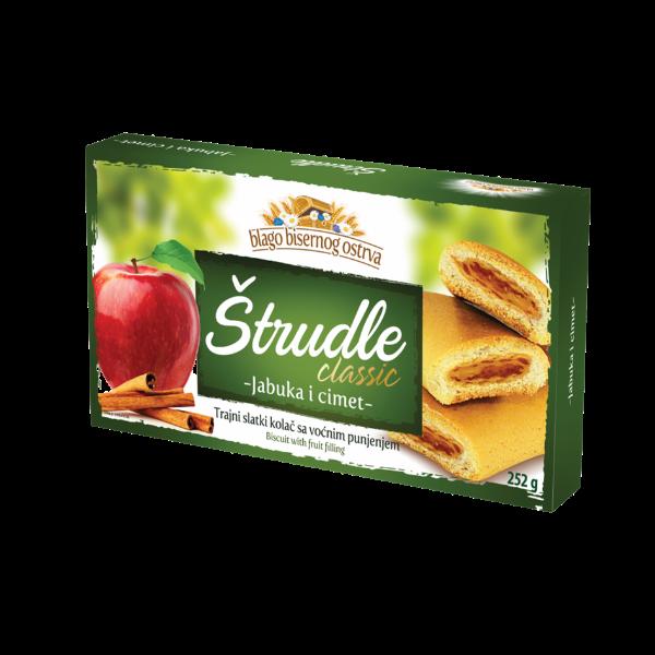 Strudlice classic – Strudel mit Apfel/Zimt Füllung – 252g