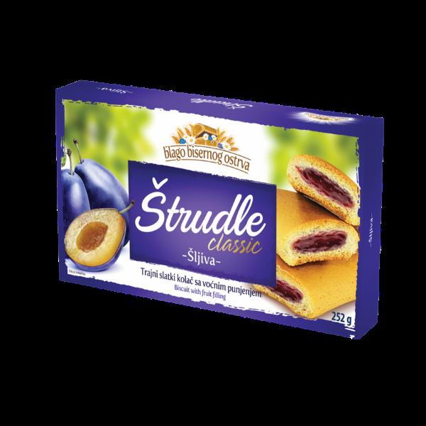 Strudlice classic – Strudel mit Pflaumen Füllung – 252g